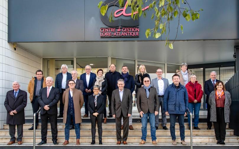 Photo des élus du conseil d'administration du CDG44