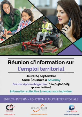 Réunion sur emploi territorial CDG44