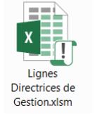 Document excel des lignes directrices de gestion (LDG) CDG44