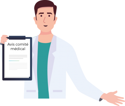 PPR avis comité médical